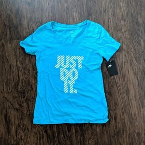 Nike Teal Green Just Do It Tee